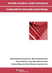 Kontrola zarządcza i audyt wewnętrzny w jednostkach samorządu terytorialnego