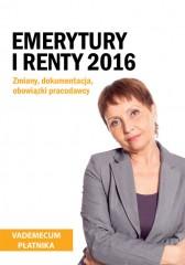 Emerytury i renty 2016