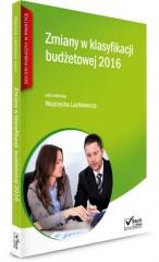 Zmiany w klasyfikacji budżetowej 2016
