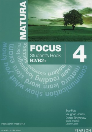 Matura Focus 4 Students Book wieloletni + CD