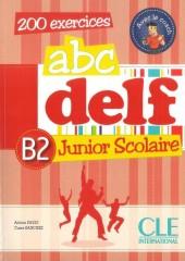 ABC DELF B2 Junior scolaire+CD