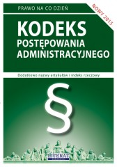 Kodeks postępowania administracyjnego 2015