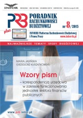 WZORY PISM korespondencja urzędowa w zakresie funkcjonowania jednostek sektora finansów publicznych