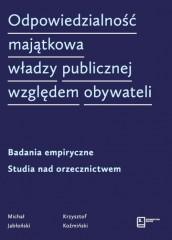 Odpowiedzialność majątkowa władzy publicznej względem obywateli