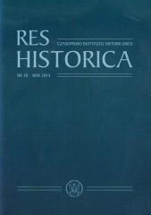 Res Historica Tom 38/2014