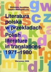 Literatura polska w przekładach 1971-1980
