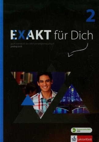 Exakt fur Dich 2 Podręcznik + CD