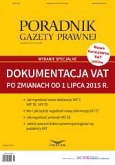 Dokumentacja VAT po zmianach od 1 lipca 2015 roku