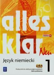 Alles klar Neu 1 Podręcznik + CD Zakres podstawowy