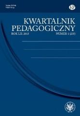Kwartalnik Pedagogiczny 1/2015