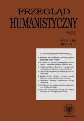 Przegląd Humanistyczny 5/2014