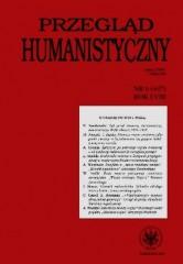 Przegląd Humanistyczny 6/2014