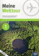 Meine Welttour 1 Język niemiecki Podręcznik z płytą CD