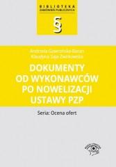 Dokumenty od wykonawców po nowelizacji ustawy Pzp