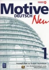 Motive Deutsch Neu 1 Podręcznik + CD Zakres podstawowy