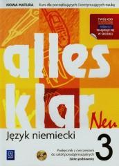 Alles klar Neu 3 Podręcznik z ćwiczeniami Zakres podstawowy + CD