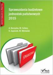 Sprawozdania budżetowe jednostek państwowych 2015