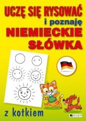 Uczę się rysować i poznaję niemieckie słówka z kotkiem