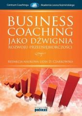 Business Coaching jako dźwignia rozwoju przedsiębiorczości