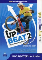 Upbeat 2 Student's Book plus MyEnglishLab Nowy egzamin gimnazjalny
