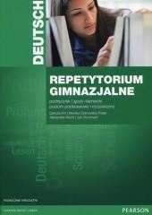 Repetytorium gimnazjalne Język niemiecki Podręcznik z płytą CD Poziom podstawowy i rozszerzony