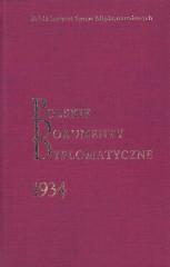 Polskie Dokumenty Dyplomatyczne 1934