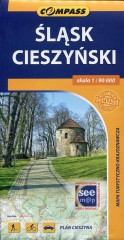 Śląsk Cieszyński mapa turystyczno-krajoznawcza 1:90 000
