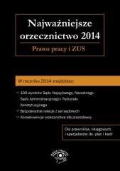 Najważniejsze orzecznictwo 2014