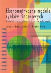 Ekonometryczne modele rynków finansowych