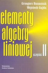 Elementy algebry liniowej część 2