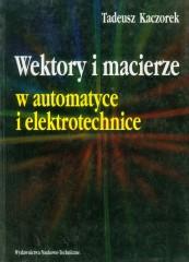 Wektory i macierze w automatyce i elektrotech.