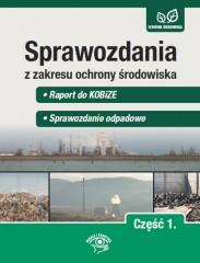 Sprawozdania z zakresu ochrony środowiska