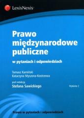 Prawo międzynarodowe publiczne w pytaniach i odpowiedziach