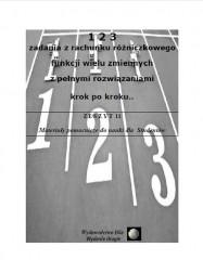123 zadania z rachunku różniczkowego funkcji wielu zmiennych z pełnymi rozwiązaniami krok po kroku
