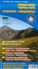 Czarnohora Świdowiec mapa turystyczna 1:50 000