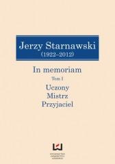 Jerzy Starnawski (1922-2012) In memoriam Tom 1/2