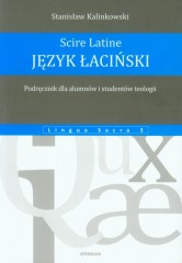 Język łaciński Podręcznik dla alumnów i studentów teologii