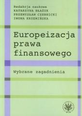 Europeizacja prawa finansowego