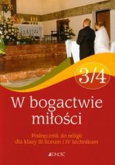 W bogactwie miłości 3/4 Religia Podręcznik