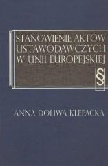 Stanowienie aktów ustawodawczych w Unii Europejskiej