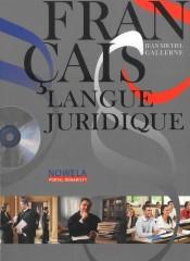 Francais langue juridique niveau avance Podręcznik z płytą CD MP3