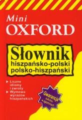 Słownik hiszpańsko-polski polsko-hiszpański mini