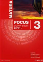 Matura Focus 3 Student's Book B1/B1+