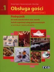 Obsługa gości (konsumentów) Częsć 1 Podręcznik do nauki zawodu kelner