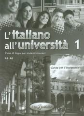 Italiano all universita 1 Podręcznik metodyczny