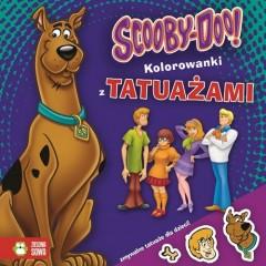 Scooby Doo Kolorowanka z tatuażami