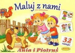 Maluj z nami - Ania i Piotruś