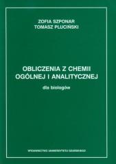 Obliczenia z chemii ogólnej i analitycznej dla biologów