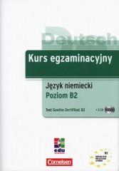 Kurs egzaminacyjny język niemiecki poziom B2 test Goethe-Zertifikat B2 + CD