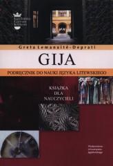 Gija Podrecznik do nauki litewskiego Książka dla nauczycieli